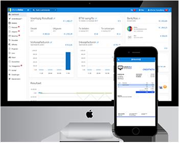 online boekhoudprogramma met app voor smartphone