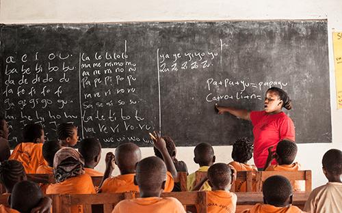 Onderwijs in Mtangani